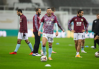 Football - 2021 / 2021 Premier League - Newcastle United vs Burnley - St Jame's Park<br /> <br /> Phil Bardsley of Burnley FC during the warm up<br /> <br /> <br /> COLORSPORT/BRUCE WHITE
