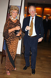 PRINCESS ISABELLA DUCHESS OF RATIBOR and LORD ROTHSCHILD at a dinner hosted by Asprey at their store at 167 New Bond Street, London W1 on 12th July 2005.<br /><br />NON EXCLUSIVE - WORLD RIGHTS