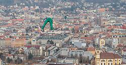 02.01.2016, Bergisel Schanze, Innsbruck, AUT, FIS Weltcup Ski Sprung, Vierschanzentournee, Training, im Bild Karl Geiger (GER) // Karl Geiger of Germany during his Practice Jump for the Four Hills Tournament of FIS Ski Jumping World Cup at the Bergisel Schanze, Innsbruck, Austria on 2016/01/02. EXPA Pictures © 2016, PhotoCredit: EXPA/ JFK