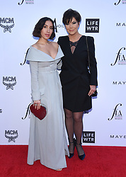 Tessa Brooks at The Daily Front Row Fashion Los Angeles Awards 2018 held at the Beverly Hills Hotel on April 8, 2018 in Beverly Hills, Ca. 08 Apr 2018 Pictured: Jen Atkin and Kris Jenner. Photo credit: MEGA TheMegaAgency.com +1 888 505 6342