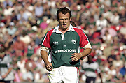 Leicester, 13th September 2003, Zurich Premiership Rugby,  Welford Road, <br /> [Mandatory Credit; Peter Spurrier/Intersport Images]<br /> Zurich Premiership Rugby - Leicester Tigers v London Irish.<br />  Austin Healey