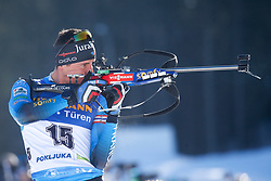 Quentin Fillon Maillet of France during the IBU World Championships Biathlon 20km Individual Men competition on February 17, 2021 in Pokljuka, Slovenia. Photo by Primoz Lovric / Sportida