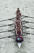 London, Great Britain, Oxford Brookes University II. 2002 Head of the River Race Championship Course Chiswick [Mortlake] to Putney. River Thames. Saturday, [Mandatory Credit. Peter SPURRIER/Intersport Images. 20020323. Head of the River Race, London. UK.