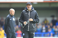 Keith Hill during the EFL Sky Bet League 1 match between Rochdale and Gillingham at Spotland, Rochdale, England on 15 September 2018.
