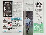 Irish Rugby Football Union, Ireland v France, Five Nations, Landsdowne Road, Dublin, Ireland, Saturday 21st March, 1987,.21.03.1987, 03.21.1987,..Referee- Clive Norling, W.R.U.,..Score- Ireland 13- 19 France,..Irish Team, ..H P MacNeill,  Wearing number 15 Irish jersey, Full Back, London Irish Rugby Football Club, London, England, ..T M Ringland, Wearing number 14 Irish jersey, Right Wing, Ballymena Rugby Football Club, Antrim, Northern Ireland,..B J Mullin, Wearing number 13 Irish jersey, Right Centre, Oxford University Rugby Football Club, Oxford, England, ..M J Kiernan, Wearing number 12 Irish jersey, Left Centre, Dolphin Rugby Football Club, Cork, Ireland, ..K D Crossan, Wearing number 11 Irish jersey, Left Wing, Instonians Rugby Football Club, Belfast, Northern Ireland,..P M Dean, Wearing number 10 Irish jersey, Out Half, St Marys College Rugby Football Club, Dublin, Ireland,..M T Bradley, Wearing number 9 Irish jersey, Scrum Half, Consitution  Rugby Football Club, Cork, Ireland, ..W A Anderson, Wearing number 8 Irish jersey, Forward, Dungannon Rugby Football Club, Tyrone, Northern Ireland,..P M Mathews, Wearing number 7 Irish jersey, Forward, Wanderers Rugby Football Club, Dublin, Ireland, ..B J Spillane, Wearing number 6 Irish jersey, Forward, Bohemian Rugby Football Club, Limerick, Ireland,..J J Glennon, Wearing number 5 Irish jersey, Forward, Skerries Rugby Football Club, Dublin, Ireland, ..D G Lenihan, Wearing number 4 Irish jersey, Captain of the Irish team, Forward, Cork Constitution Rugby Football Club, Cork, Ireland,..D C Fitzgerald, Wearing number 3 Irish jersey, Forward, Landsdowne Rugby Football Club, Dublin, Ireland,..H T Harbison, Wearing number 2 Irish jersey, Forward, Bective Rangers Rugby Football Club, Dublin, Ireland, ..P A Orr, Wearing number 1 Irish jersey, Forward, Old Wesley Rugby Football Club, Dublin, Ireland,..French Team, ..S Blanco, Wearing number 15 French jersey, Full Back, Biarritz Olympique Rugby Football Club, France, ..P Berot,