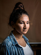 Khatira, age 19, from Afghanistan.