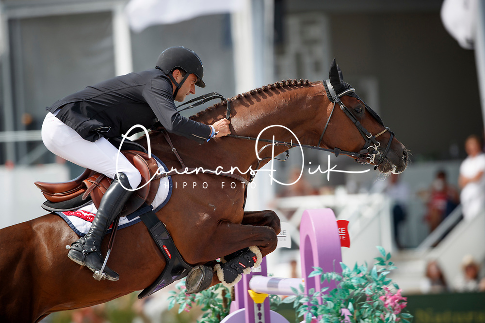 Bucci Piergiorgio, ITA, Casallo Z<br /> Rolex Grand Prix CSI 5* - Knokke 2017<br /> © Dirk Caremans<br /> 09/07/17