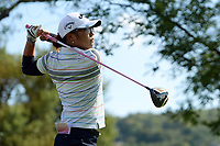 Lydia Ko (Nzl) competes during the second round of LPGA Evian Championship 2014, day 5, at Evian Resort Golf Club, in Evian-Les-Bains, France, on September 12, 2014. Photo Philippe Millereau / KMSP / DPPI