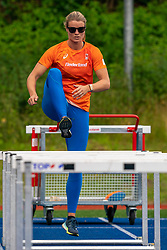 Dafne Schipper in action during the Press presentation of the olympic team Athletics on July 8, 2021 in Papendal Arnhem