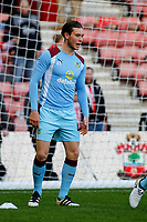 Football - 2016 / 2017 Premier League - Southampton vs. Burnley<br /> <br /> Aiden O'Neill of Burnley during the warm up before kick off at St Mary's Stadium Southampton <br /> <br /> Colorsport/Shaun Boggust