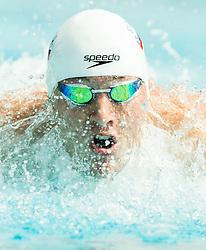 Ziga Cerkovnik of PK Velenje competes in 100m Butterfly during Slovenian Swimming National Championship 2014, on August 3, 2014 in Ravne na Koroskem, Slovenia. Photo by Vid Ponikvar / Sportida.com