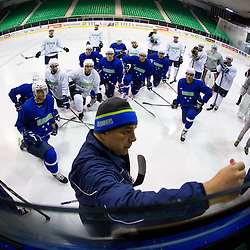 20141103: SLO, Ice Hockey - Practice session of Slovenian National team