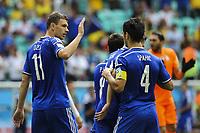 Fotball<br /> VM 2014<br /> Bosnia Herzegovinia v Iran<br /> 25.06.2014<br /> Foto: imago/Digitalsport<br /> NORWAY ONLY<br /> <br /> Edin DZEKO jubler for scoring til Bosnia