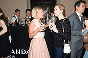 MARIELA FROSTRUP; JUSTINE PICARDIE, Harpers Bazaar Women of the Year Awards. North Audley St. London. 1 November 2010. -DO NOT ARCHIVE-© Copyright Photograph by Dafydd Jones. 248 Clapham Rd. London SW9 0PZ. Tel 0207 820 0771. www.dafjones.com.