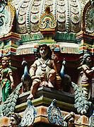 Hindu temple inside Batu Caves, Selangor, Malaysia.
