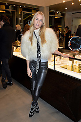 LADY MARY CHARTERIS at a party to celebrate the launch of the Monica Vinader London Flagship store at 71-72 Duke of York Square, London SW3 on 4th December 2014.