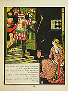 Valentine and Orson From the Book The Marquis of Carabas' picture book : containing Puss in Boots, Old Mother Hubbard, Valentine and Orson, the absurd ABC. Illustrated by Walter Crane, Edmund Evans, and Sarah Catherine Martin. Publisher London (The Broadway, Ludgate) ; New York (416 Broome Street) : George Routledge and Sons in 1874