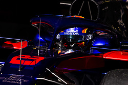 February 28, 2019 - Barcelona, Barcelona, Spain - Alexander Albon from Thailand 23 Scuderia Toro Rosso Honda in action  during the Formula 1 2019 Pre-Season Tests at Circuit de Barcelona - Catalunya in Montmelo, Spain on February 28. (Credit Image: © Xavier Bonilla/NurPhoto via ZUMA Press)