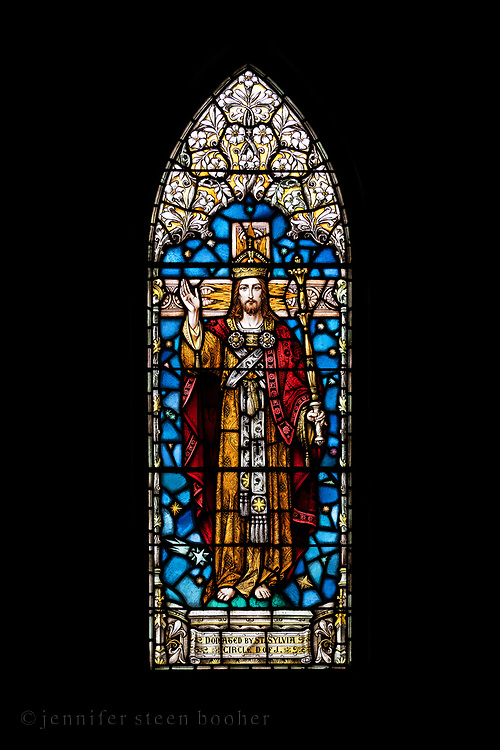 Window 12 on plan. <br /> Holy Redeemer Catholic Church, Bar Harbor, Maine.