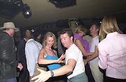 Sonia Irvine dancing. Jaguar party. Casa Batllo, Barcelona. 27 April 2001. © Copyright Photograph by Dafydd Jones 66 Stockwell Park Rd. London SW9 0DA Tel 020 7733 0108 www.dafjones.com