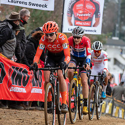 26-12-2019: Cycling: CX Worldcup: Heusden-Zolder: Marianne Vos attacking on an uphill section