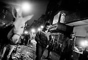 Manchiet Nasr. streetlife at nigthtime