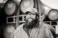 Dan J. Rinke, winegrower at Johan Vineyards, Willamette Valley, Oregon, USA