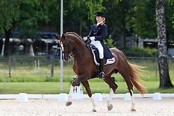 Andresen Alexandra Gamlemshaug (NOR) - Belamour<br /> FEI European Dressage Championship Juniors - Bern 2012<br /> © Hippo Foto - Leanjo de Koster