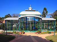 Orquidário the crystal palace of the ancient imperial city of petropolis in rio de janeiro state in brazil