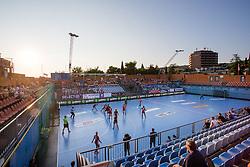 View of arena during handball match between RK Zagorje and RK Krim Mercator of Super Cup 2016, on August 27, 2016 in SRC Marina, Portoroz / Portorose, Slovenia. Photo by Matic Klansek Velej / Sportida