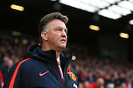 Louis Van Gaal, manager of Manchester United - Manchester United vs. Crystal Palace - Barclay's Premier League - Old Trafford - Manchester - 08/11/2014 Pic Philip Oldham/Sportimage