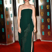 Claire Foy Arrivers at EE British Academy Film Awards in 2019 after-party dinner at Grosvenor house on 10 Feb 2019.