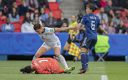 Vanina CORREA (ARG),Aldana COMETTI ARG), Hina SUGITA (JPN) in action during the match of 2019 FIFA Women's World Cup France group D match between Argentina andJapan, at Parc des Princes on June 10, 2019 in Paris, France. Photo by Loic BARATOUX/ABACAPRESS.COM