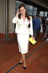 LADY ROSE INNES-KER daughter of the 10th Duke of Roxburghe  at the 4th dfay of the 2005 Glorious Goodwood horseracing festival at Goodwood Racecourse, West Sussex on 29th July 2005.    <br />