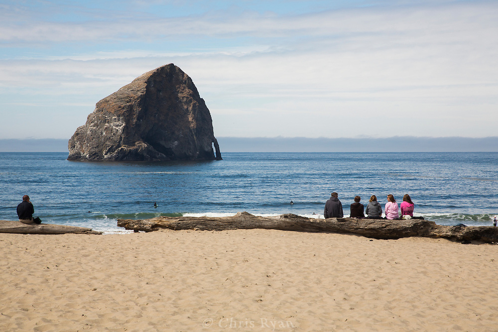 Haystack Rock, Pacific City, Oregon