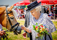 Princess Beatrix attend the 50th edition of The Day of the Zeeuwse horse