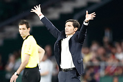 Valencia CF's coach Marcelino Garcia Toral during Spanish King's Cup Final match, Seville, Spain on May 25,2019. Photo by Carrusan/AlterPhotos/ABACAPRESS.COM