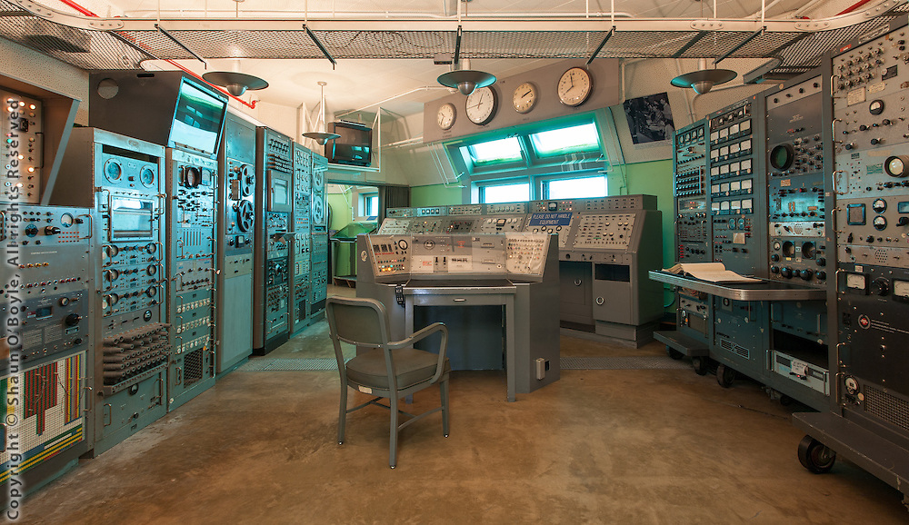 Cape Canaveral air force space and missile museum, launch complex 26 blockhouse interior