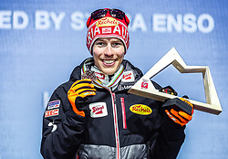 22.02.2019, Medal Plaza, Seefeld, AUT, FIS Weltmeisterschaften Ski Nordisch, Seefeld 2019, Nordische Kombination, Siegerehrung, im Bild Bronzemedaillengewinner Franz Josef Rehrl (AUT) // Bronze medalist Franz Josef Rehrl of Austria during the winner Ceremony for the Nordic Combined competition of FIS Nordic Ski World Championships 2019 at the Medal Plaza in Seefeld, Austria on 2019/02/22. EXPA Pictures © 2019, PhotoCredit: EXPA/ Dominik Angerer