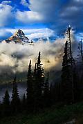 Heavy Runer and Mt Reynolds, Glacier National Park.