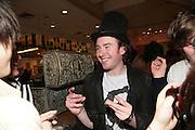 Philip Colbert, Surrealism at Selfridges. London. 22 March 2007.  -DO NOT ARCHIVE-© Copyright Photograph by Dafydd Jones. 248 Clapham Rd. London SW9 0PZ. Tel 0207 820 0771. www.dafjones.com.