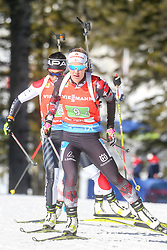 Innerhofer Katharina of Austria competes during the IBU World Championships Biathlon 4x6km Relay Women competition on February 20, 2021 in Pokljuka, Slovenia. Photo by Vid Ponikvar / Sportida