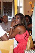 24 June 2010- Miami Beach, Florida- Kenya Moore at the The 2010 American Black Film Festival Founder's Brunch held at Emeril's on June 24, 2010. Photo Credit: Terrence Jennings/Sipa