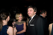 MARIELA FROSTRUP; ALEX JAMES, British Fashion Awards Ceremony. Supported by Swarovski and organised by British Fashion Council. Lawrence Hall. Greycoat St. London SW1. 25 November 2008 *** Local Caption *** -DO NOT ARCHIVE-© Copyright Photograph by Dafydd Jones. 248 Clapham Rd. London SW9 0PZ. Tel 0207 820 0771. www.dafjones.com.