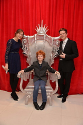 SOPHIE ELLIS-BEXTOR, RICHARD JONES and their son SONNY JONES at a pre party for the English National Ballet's Christmas performance of The Nutcracker was held at the St.Martin's Lane Hotel, St.Martin's Lane, London on 12th December 2013.