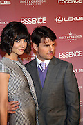 Katie Holmes and Tom Cruise at The Essence Magazine Celebrates Black Women in Hollywood Luncheon Honoring Ruby Dee, Jada Pickett Smith, Susan De Passe & Jurnee Smollett at the Beverly Hills Hotel on February 21, 2008 in Beverly Hills, CA