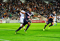 SOCCER : Bordeaux vs Evian - Day 6 French L1 - 09/19/2014<br /> <br /> Goal et joie Diego Rolan (gir)<br /> Norway only