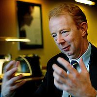 Nederland. Utrecht.10 november 2004..Marijn Dekkers, CEO van Thermo Nuclear, een groot amerikaans bedrijf dat instrumenten maakt. Nu is hij CEO van Bayer.