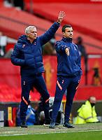 Football - 2020 / 2021 Premier League - Manchester United  vs Tottenham Hotspur - Old Trafford<br /> <br /> Jose Mourinho manager of Tottenham Hotspur at Old Trafford<br /> <br /> COLORSPORT/LYNNE CAMERON