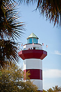 Harbour Town Lighthouse at Sea Pines Resort in Hilton Head Island, GA.